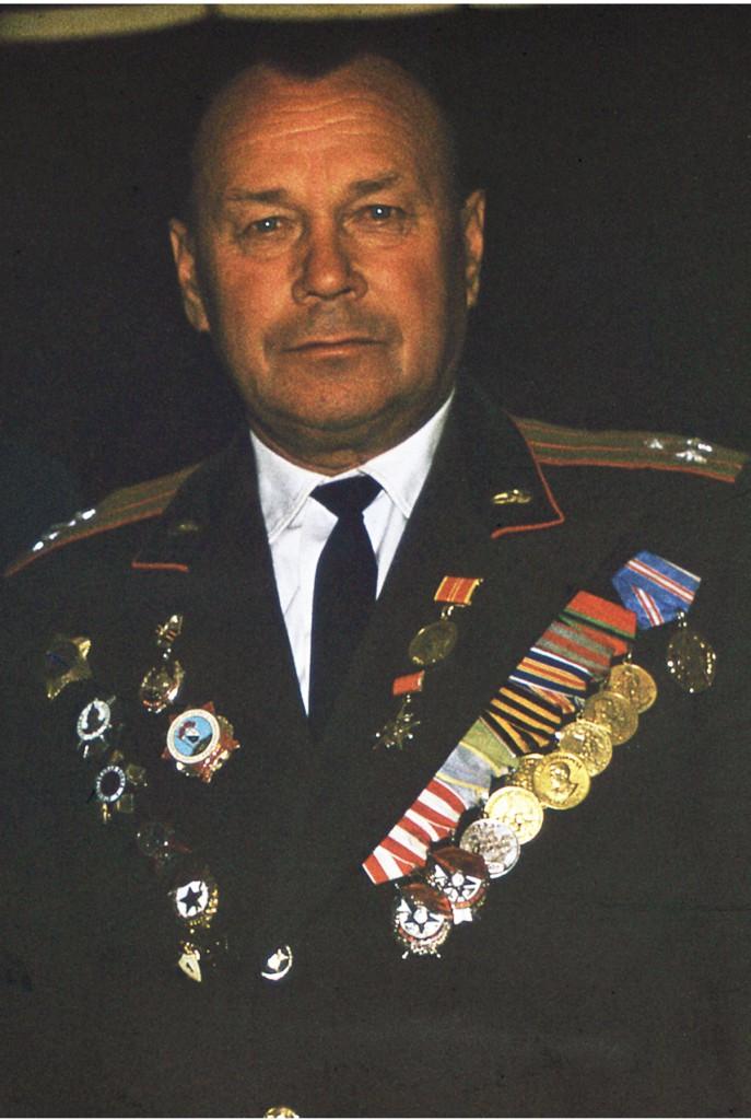 Жидков Василий Фёдорович, подполковник, с 22.05.1943 полковник - 28.08.1944, 15.04.1943 - 28.08.1944