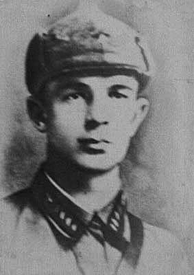 Самохвалов Федор Николаевич, зам. политрука, комиссар танковой роты