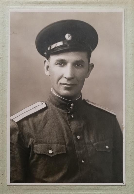Серов Ф.В., гв. рядовой, пехота